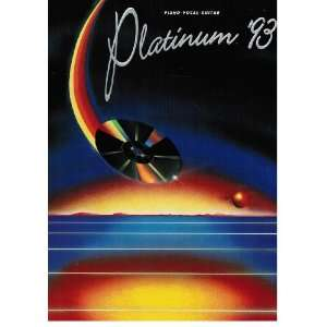 Platinum 93 (Piano Vocal Guitar) Warner Bros. Books