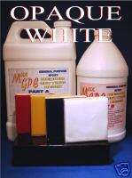 EPOXY RESIN WHITE GEL COAT REPAIR COATING 1.5 GAL KIT
