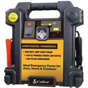Super start power pack portable jump starter 12 volt port 260 psi air