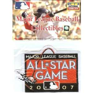 2007 MLB All Star Patch   San Francisco Giants   Official