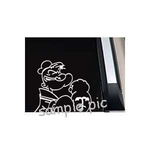 Popeye The Sailor Man Car Window Vinyl Decal Sticker   SPTSM005   5L