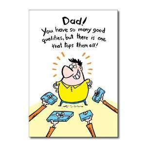 Funny Fathers Day Card Wanted Socks and Ties Humor Greeting Patricia