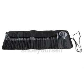 New 32 Pcs Professional Makeup Cosmetic Brush Set Kit Case #001