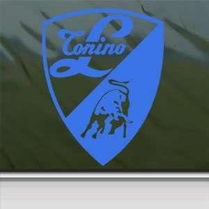 Lamborghini Blue Decal Logo Bull Car Truck Window Blue