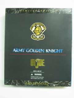 GI JOE 12 Army Golden Knight FAO Schwarz