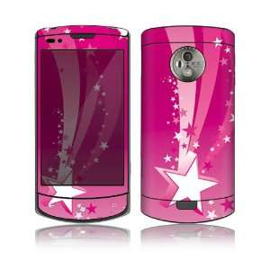 Pink Stars Design Protective Skin Decal Sticker for LG Optimus 7 Cell
