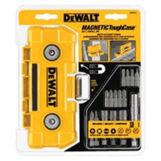 accessory kit case DWMTC15C, 15 Piece Magnetic ToughCase Fastening