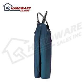 Helly Hansen Waterproof Navy Blue Rain Pants Bib M NEW