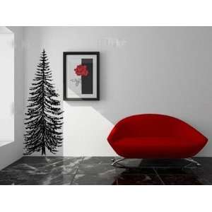 Picea Excelsa Spruce Tree Vinyl Wall Decal Sticker Graphic