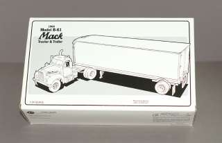 FIRST GEAR RED STAR EXPRESS B 61 TRACTOR TRAILER EARLY ISSUE
