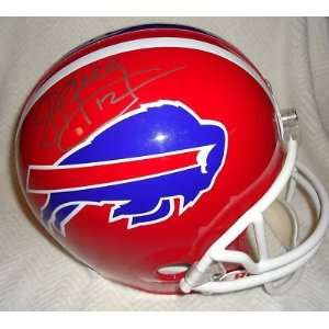 Signed Jim Kelly Helmet   * * F S W COA PROOF