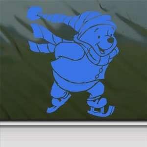 Decal Winnie The Pooh Bear Window Blue Sticker Arts, Crafts & Sewing