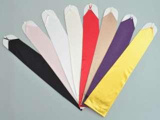 wrist length fingered short satin gloves gv59 13 fingerless stretch