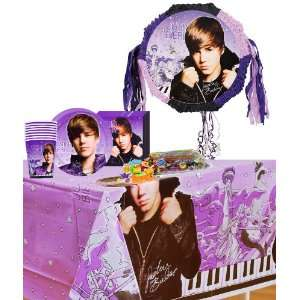 Justin Bieber Party Supplies Pinata Party Accessory Pack