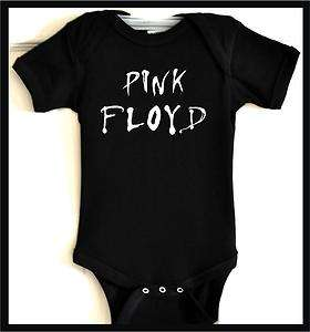 wb pink floyd baby onsie kids shirt toddler clothes top