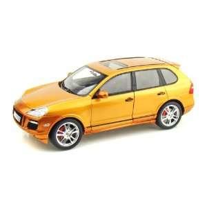 Porsche Cayenne GTS 1/18 Metallic Orange: Toys & Games