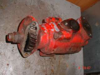Ford Tractor Working Hydraulic Pump Ford