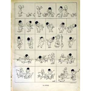 RIRE FRENCH HUMOR MAGAZINE CARTOONS MEN COMEDY BENCH: Home & Kitchen