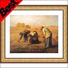 Print Wall Stickers Wall Decals   The Gleaners   Jean Francois Millet