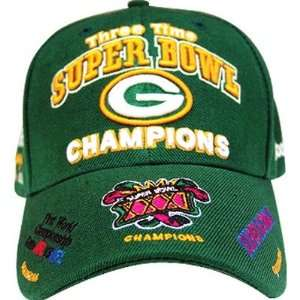 NFL Green Bay Packers Commemorative Super Bowl Hat