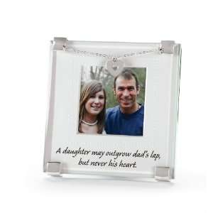 Mud Pie Father and Daughter Frame:  Home & Kitchen