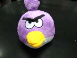 iPhone game Angry Birds Purple Bird Plush Toy Doll 4