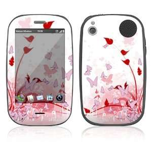 Pink Butterfly Fantasy Protector Decal Skin Sticker for