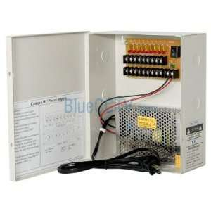 ] 8ch 13A DC12V Fuse Free CCTV Camera HIGH AMP Power Box Design