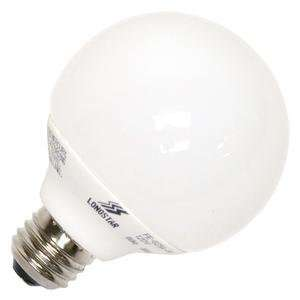LongStar 00078   FE G25A 9W/50K Globe Screw Base Compact Fluorescent