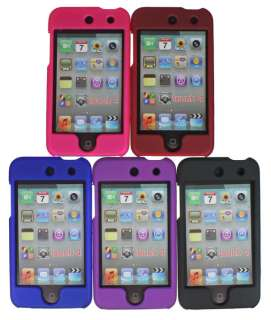 Lots 5 Front Back Hard Case Cover For iPod Touch 4th 4G