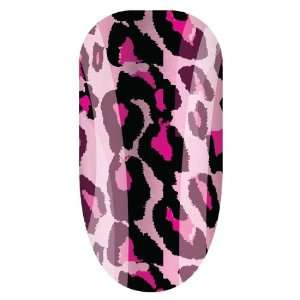 Trendy Nail Wraps Nail Art Minx Cheetalicious Pink Beauty