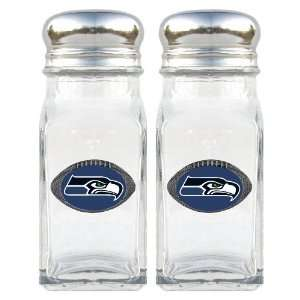 Seattle Seahawks Football Salt/Pepper Shaker Set Kitchen