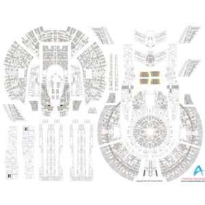 1000 Star Trek USS Enterprise NX1 Aztec Decals for PLL Toys & Games