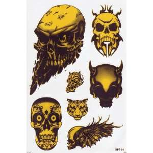 Skull Devil Ghost Car Decals Graphics Vinyl Sticker Home