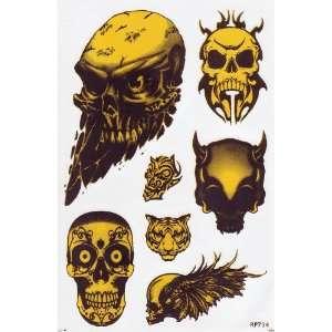 Skull Devil Ghost Car Decals Graphics Vinyl Sticker