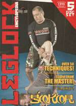 Leglock Encyclopedia 5 DVD Set gracie jiu jitsu 50/50
