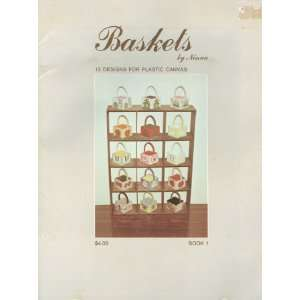 Baskets: 15 designs for plastic canvas: Ninna: Books
