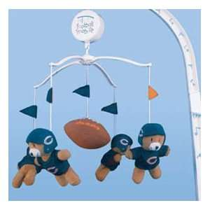 Chicago Bears NFL Football Infant BABY MOBILE Shower Gift
