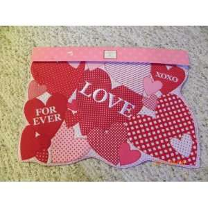 Happy Valentine Day placemat