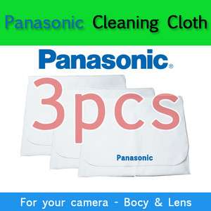 Panasonic Microfiber Cleaning Cloth with Pocket for DLSR Camera