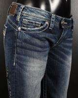 NWT Womens SILVER Jeans TUESDAY Slim Boot Cut Low Rise
