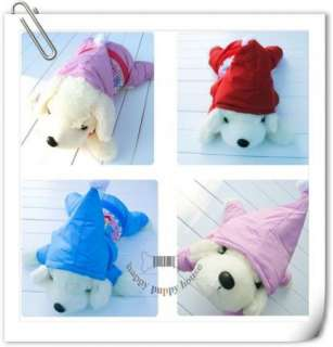 snowsuits jumpers Hoodie Pink Red Christmas Blue dog pet coats clothes