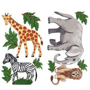 Sherri Blum Jungle Animals Small Set Wall Stickers