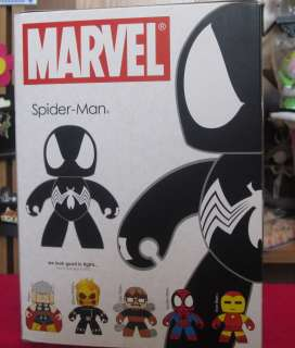 Mighty Muggs Marvel Legends Black Spider Man New in Box 653569331018