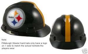 NEW NFL Hardhat PITTSBURGH STEELERS MSA Hard hat
