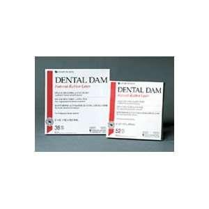 H08559 PT# 1012213 Dental Dam Face Mask Rubber Green Thin