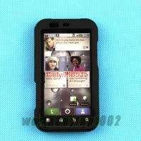 New Black Hard Case Cover for Motorola Defy MB525 Phone
