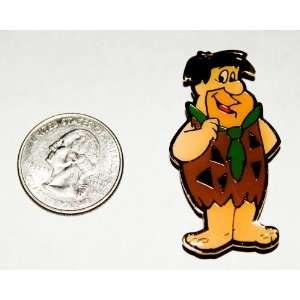 Hanna Barbera the Flintstones Vintage Enamel Magnet  Fred Flintstone
