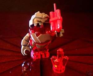 RED LEGO POWER MINERS ROCK MONSTER MELTROX   NEW