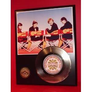 Gold Record Outlet Monkees 24kt Gold Record Display LTD